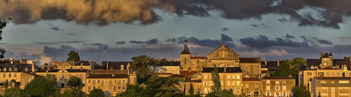 Vue de Poitiers