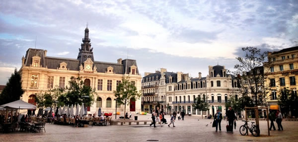 Poitiers : Centre ville