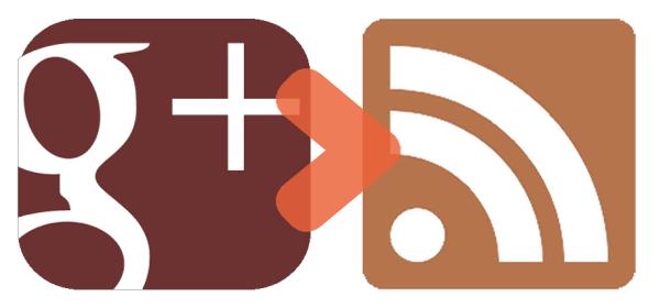 Ajouter un flux RSS à Google Plus