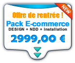 Pack e-boutique