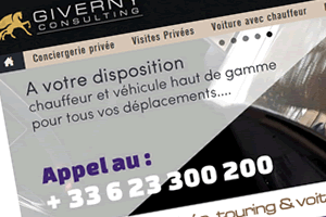Giverny-Consulting : Conciergerie privée, VTC et touring à Paris