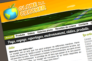 Capture du site Globecrocker.