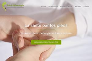 Idéal Réflexologie : Praticienne en réflexologie certifiée RNCP en Indre et Loire