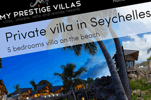 My Prestige Villas : Location de villas de luxe