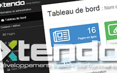 Le CMS Xtendo - Extensible, flexible, simple et rapide