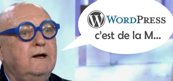 WordPress c'est de la merde ?